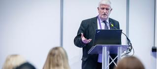 Eddie Regan delivering one of our procurement training events